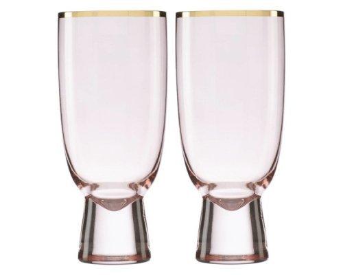 """Набор бокалов для коктейля Lenox """"Трианна"""" 410мл, 2шт (пудровый)"""