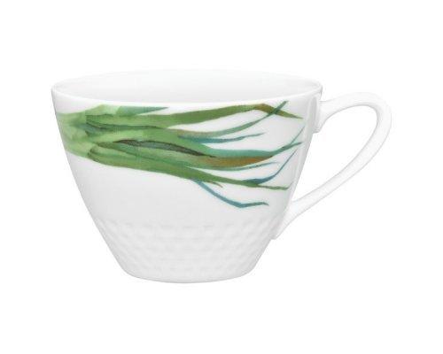 """Чашка чайная Noritake """"Овощной букет"""" """"Зеленый лук"""" 210 мл"""