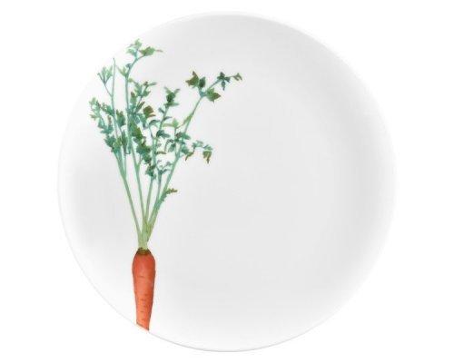 "Тарелка закусочная Noritake ""Овощной букет"" ""Морковка"" 24см"