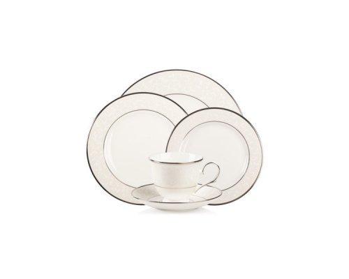 """Набор чайно-столовый Lenox """"Чистый опал"""" на 1 персону 5 предметов"""