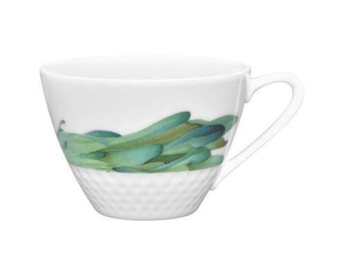 """Чашка чайная Noritake """"Овощной букет"""" """"Горчица"""" 210 мл"""