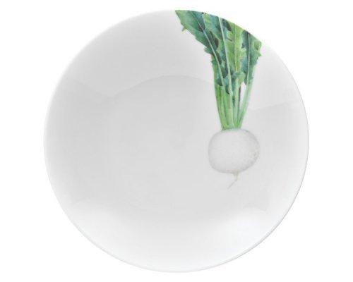 """Тарелка для пасты Noritake """"Овощной букет"""" """"Редька"""" 23см"""
