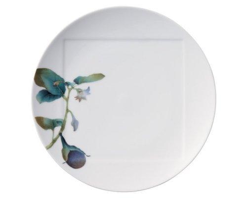 "Тарелка обеденная Noritake ""Овощной букет"" ""Баклажан"" 27см"