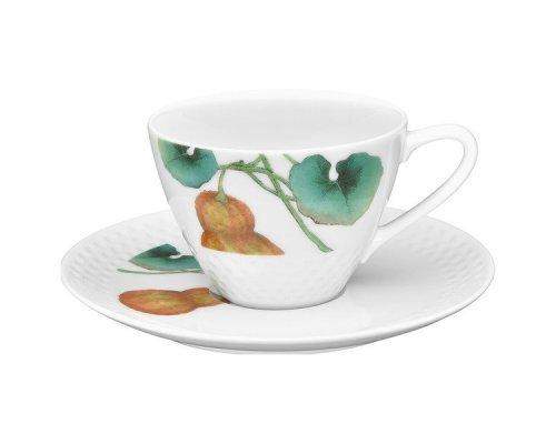 """Чашка чайная с блюдцем Noritake """"Овощной букет"""" """"Тыква"""" 210 мл"""
