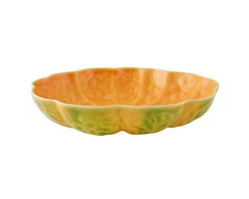 Тарелка суповая Bordallo Pinheiro Тыква 26см