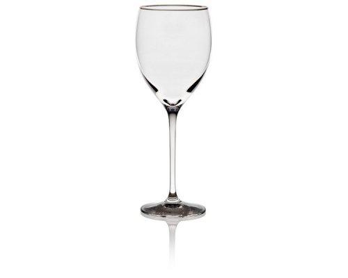"""Бокал для белого вина 250мл Lenox """"Вечность, платиновый кант"""""""