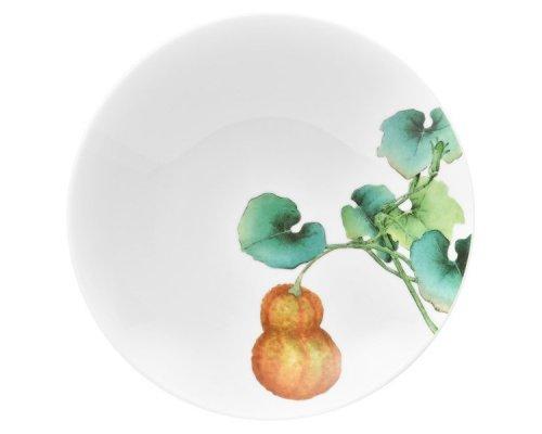 """Тарелка для пасты Noritake """"Овощной букет"""" """"Тыква"""" 23см"""