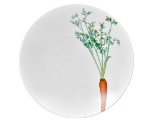 """Тарелка для пасты Noritake""""Овощной букет"""" """"Морковка"""" 23см"""