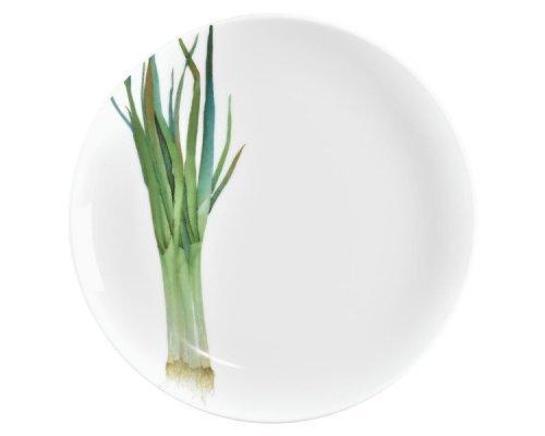 """Тарелка закусочная Noritake """"Овощной букет"""" """"Зеленый лук"""" 24м"""