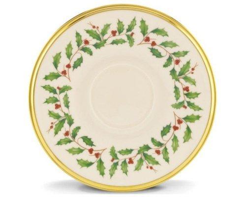 """Блюдце для чашки чайной 15см Lenox """"Новогодние праздники"""""""