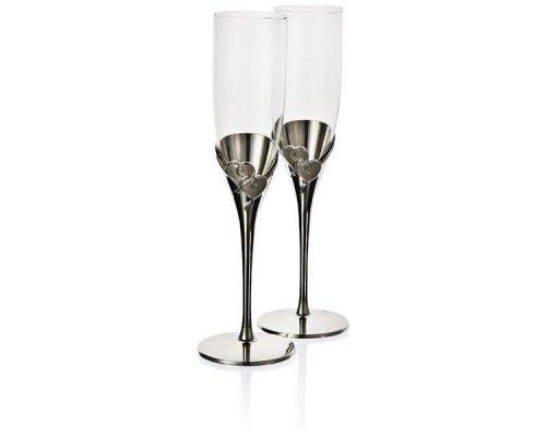 """Набор из 2 фужеров для шампанского 180мл Lenox """"Настоящая любовь"""""""