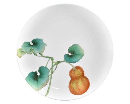 """Тарелка закусочная Noritake """"Овощной букет"""" """"Тыква"""" 24см"""