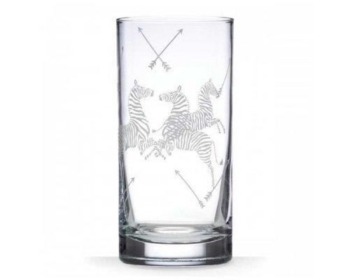 """Набор из 2 стаканов для воды 470мл Lenox """"Зебры, Скаламандре"""""""