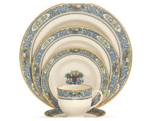 """Набор посуды чайно-столовый Lenox """"Осень"""" на 1 персону 5 предметов"""