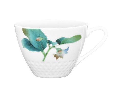 "Чашка чайная Noritake ""Овощной букет"" ""Баклажан"" 210 мл"
