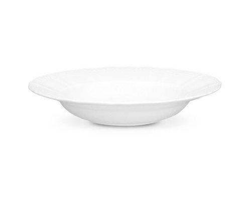 """Тарелка суповая 24см Noritake """"Шер Бланк"""""""