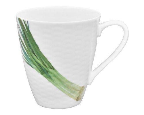 """Кружка Noritake """"Овощной букет"""" """"Зеленый лук"""" 295мл"""