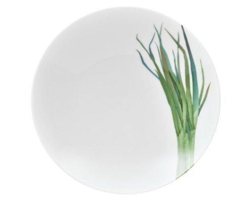 """Тарелка для пасты Noritake """"Овощной букет"""" """"Зеленый лук"""" 23см"""