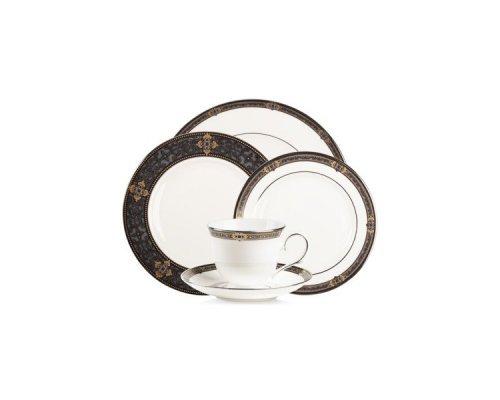 """Набор посуды чайно-столовый Lenox """"Классические ценности"""" на 1 персону 5 предметов"""