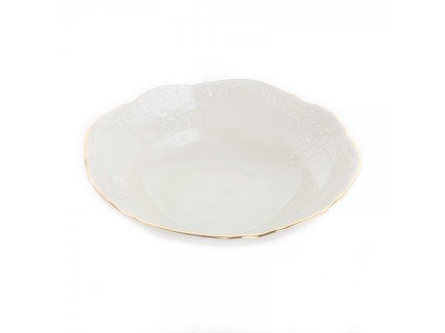 Набор салатников 13 см Бернадотт Белый узор (6 шт)
