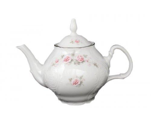 Чайник 1,2 л Бернадотт Серая роза платина