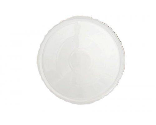 Тарелка для пиццы 32 см Бернадотт Белый узор