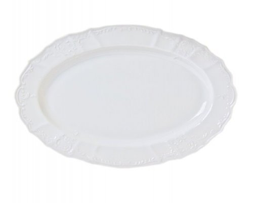 Блюдо овальное 36 см Бернадотт 0000 Недекорированный