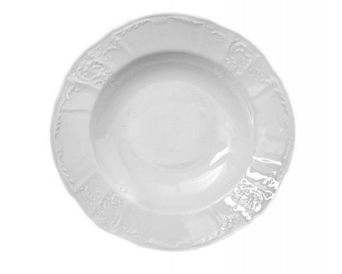 Набор тарелок глубоких 23 см Бернадотт 0000 Недекорированный (6 шт)