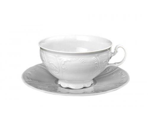 Набор чайных пар Bernadotte 0000 Недекорированный 360 мл (6 пар)
