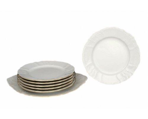 Набор для торта 7 предметов Бернадотт Белый узор