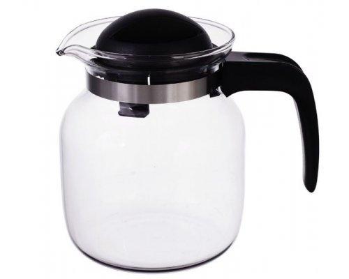 Кофейник 0,65 л Simax черный жаропрочный
