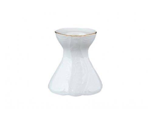 Подсвечник 6,5 см Бернадотт Белый узор