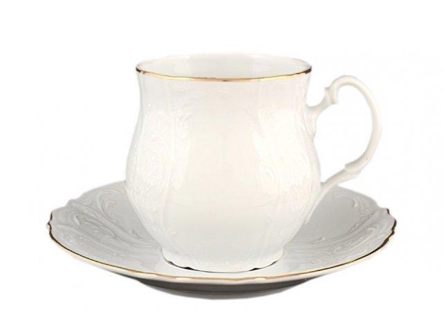 Набор чайныйх пар Джонас 310 мл Бернадотт Белый узор