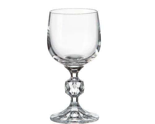 Набор бокалов для вина 150 мл Клаудия Crystalite Bohemia (6 шт)