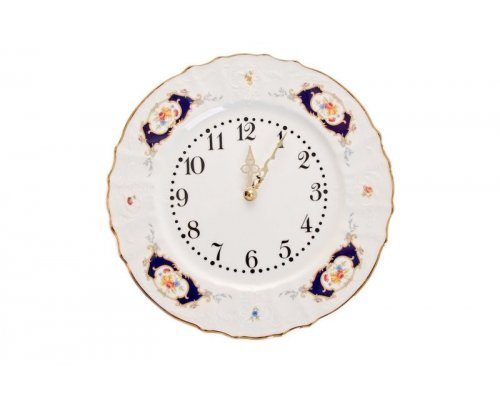 Часы круглые 27 см Бернадотт Синий глаз