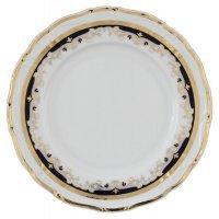Набор тарелок 27 см Тхун (Thun) Мария Луиза Синяя лилия (6 шт)