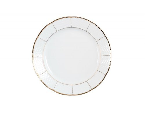 Блюдо круглое 31см Тхун (Thun) Менуэт Отводка золото
