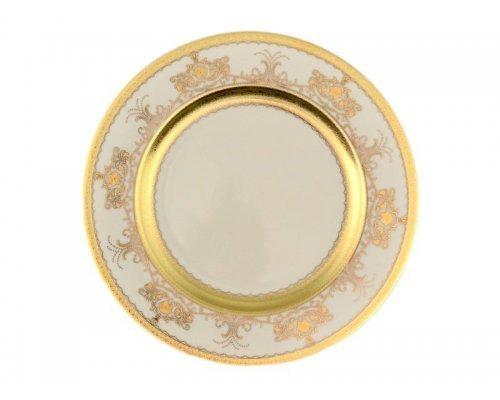 Набор тарелок 27 см Falkenporzellan Cream Saphir Gold (6 шт)