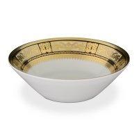 Набор салатников 19 см Falkenporzellan Diadem Black Creme Gold (6 шт)