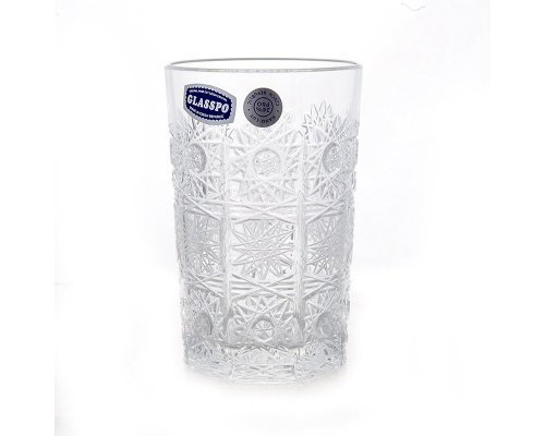 Набор стаканов для воды 180 мл Glasspo Bohemia (Богемия)