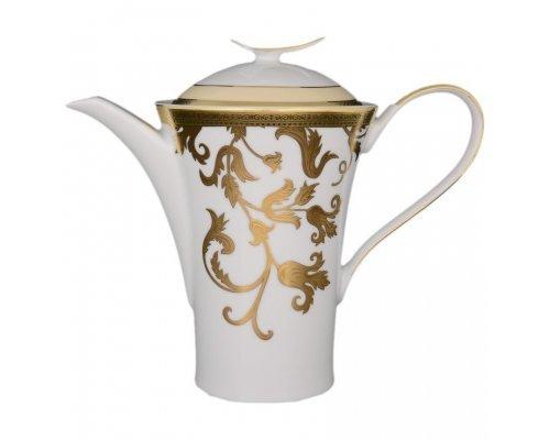 Кофейник 1,2 л Falkenporzellan Tosca Creme Gold