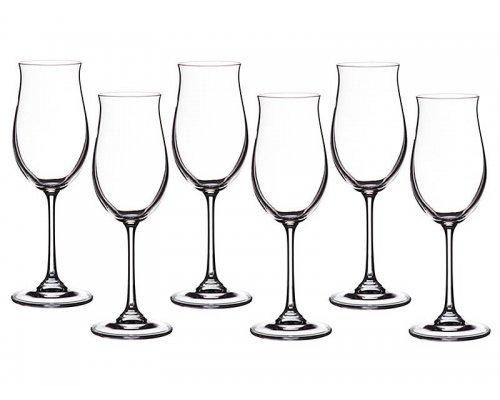 Набор бокалов для вина 260 мл Ellen Crystalite Bohemia (6 шт)
