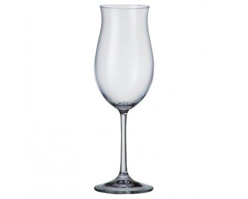 Набор бокалов для вина 360 мл Ellen Crystalite Bohemia (6 шт)