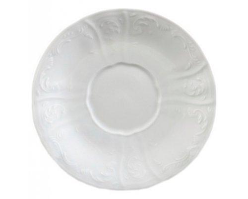 Набор блюдец 15 см Бернадотт 0000 Недекорированный