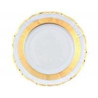 Набор тарелок 19 см Тхун (Thun) Мария Луиза Золотая лента (6 шт)
