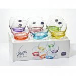 Набор стаканов для воды 390 мл Crazy (6 шт) Crystalite Bohemia