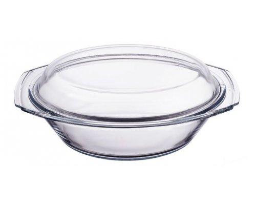Блюдо для запекания стеклянное с крышкой 3500 мл Симакс (Simax) S-X