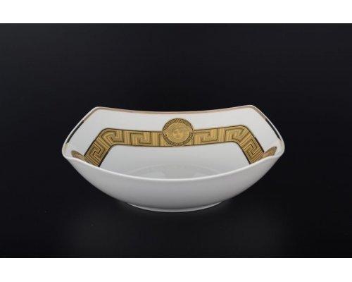 Салатник 24 см Гамма Медуза Горгона Старорольский Фарфор (MZ) (1 шт)