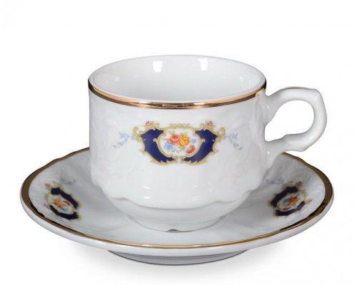 Набор чайных пар Синий глаз Bernadotte 250 мл (6 пар)