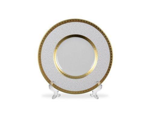 Набор тарелок 29 см Falkenporzellan Constanza Diamond White Gold (6 шт)